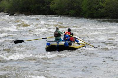 Giveaway Rafting Trip