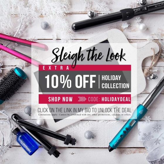 10% off holiday collection