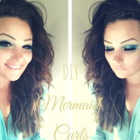 How To: Mermaid Inspired Curls With Braided Crown