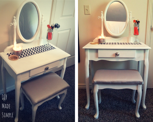 Finished Vanity Makeover