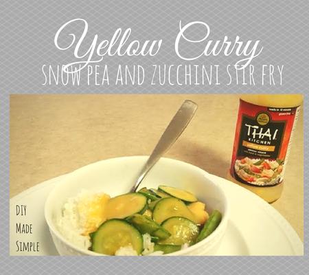 Yellow Curry Stir Fry Recipe