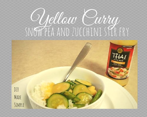 Yellow Curry Stir Fry Recipe