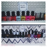 diy nail polish station
