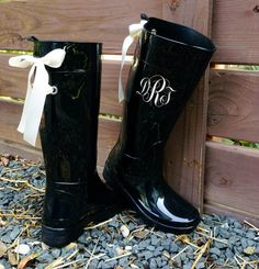 monogramed shoes