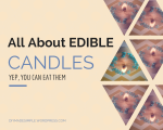 EDIBLE CANDLE