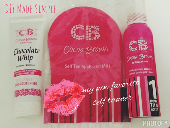 how to use cocoa brown tan