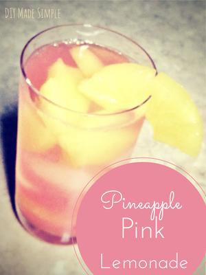 Pineapple Pink Lemonade Recipe