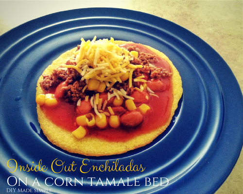 On A Corn Tamale Bed