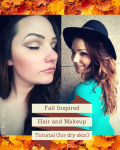 Fall Hair and Makeup