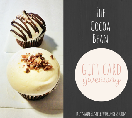 the cocoa bean giveaway