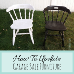 How To Update Garage Sale Furniture