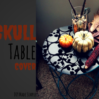 Halloween Spook House and Table Runner