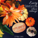 easy thanksgiving decoration
