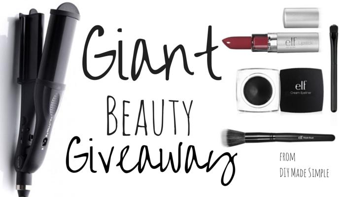 giant beauty giveaway
