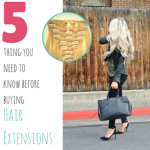 What You Need To Know About Glass Extensions: 5 Things You Need To Know Before Purchasing Hair