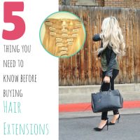 5 Things You Need To Know Before Purchasing Hair Extensions