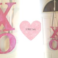 XO Valentine Door Wreath