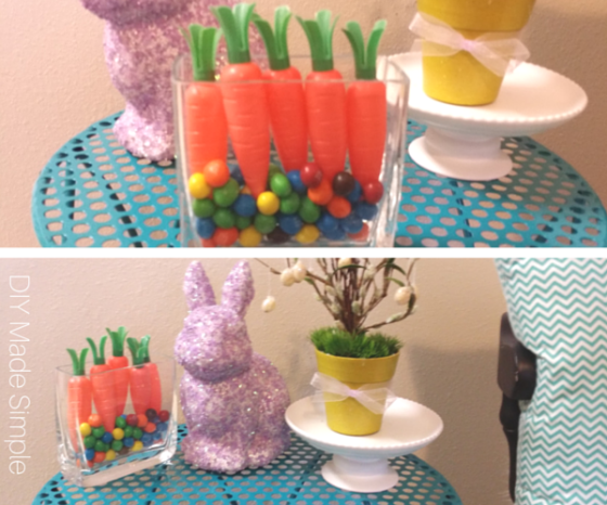 diy carrot decor