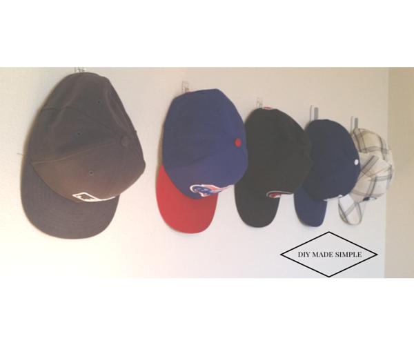 diy hat display for men