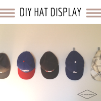 DIY Hat Display