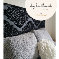 DIY Headboard for $3