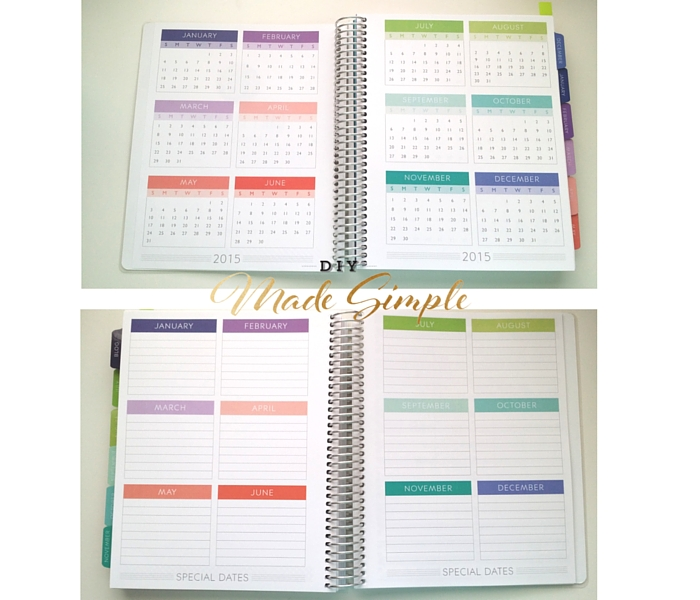 """For me, planning out my week, and writing down appointments is a must. I have a terrible memory and writing things down relieves my anxiety about forgetting. Since I was in high school, I've tried a variety of different brands planners. It wasn't until the last couple years of starting my blog, that my schedule became really jam-packed. At the beginning of 2015, I maintained a personal planner and a separate planner just for blog stuff. This was simply because a regular planner did have sections for all things needed for planning my blog (advertising and sponsorship forms, blog planning write-ups, metrics managing sheets, ect) . Unfortunately, maintaining two planners seems to cause more anxiety than it relieved, and I found myself writing everything down twice. (once in each planner) With all these issues, I started a serious search for a planner that could work for all points of my life, and essentially make my life easier… What I found in my search was that many companies claim to do everything, and their price tags are hefty. Did you know you can spend over $100 on a single planner? That seems ridiculous to me considering the main point of a planner is to save you time, which in time saves you money. Disclaimer: If you are a person who has found a fairly expensive planner, that works for them, good. I couldn't be happier for you. But for me, spending over $50 on a planner just isn't an option that I want to explore. After watching several Youtube review, I found that many people preferred the Erin Condren Life Planner. (There are even a ton of """"plan with me"""" videos where you can watch people put cute stickers on each week's activities. ) And boy, oh boy, are these planners cute. They have everything! But their price tag? One of those hefty ones I was talking about. I set off in search of a cheaper option, and I found one in Plum Paper. Plum Paper makes adorable planners, that are more affordable than Erin Condren, but higher priced than grocery store options. He"""