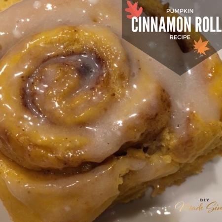 Pumpkin Cinnamon Roll Recipe