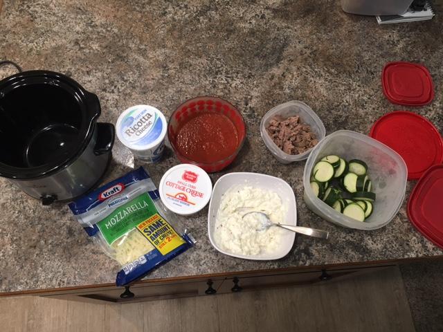 Ingredients For Crock Pot Lasagna
