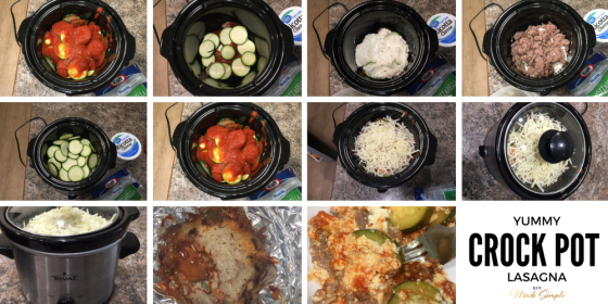 Yummy Crock Pot Lasagna Recipe