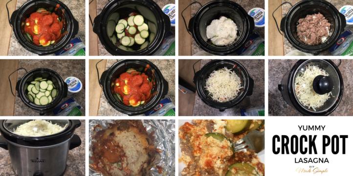 Yummy Crock Pot Lasagna Recipe