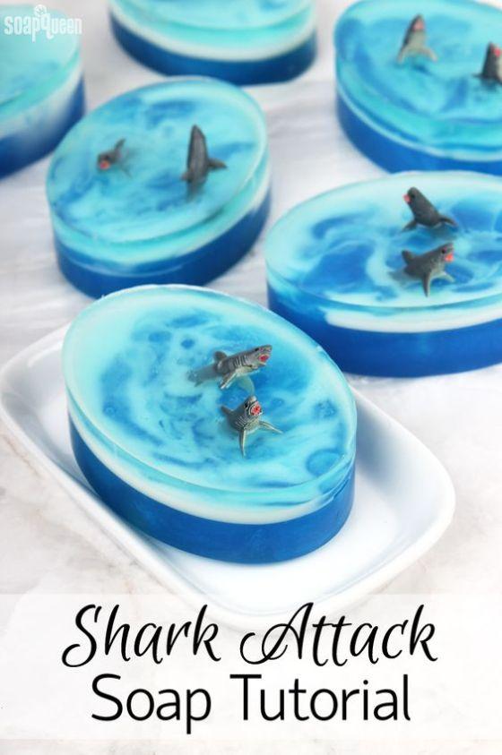 shark attack soap