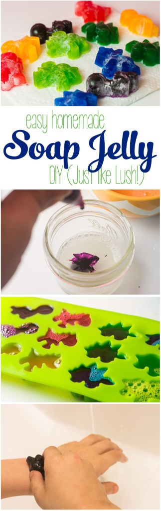 Shower Jellies DIY
