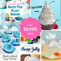 Top 5 Kids Crafts With Soap