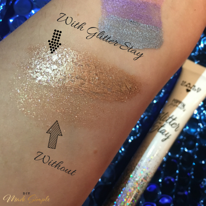 Glitter stay review diy made simple