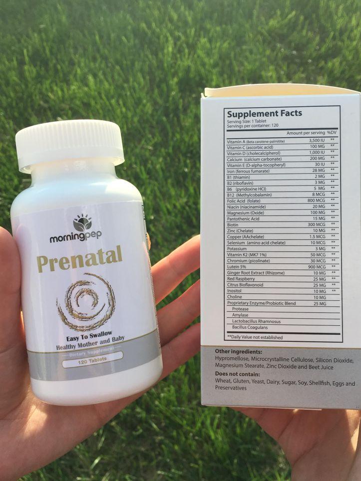 morningpep prenatal vitamins